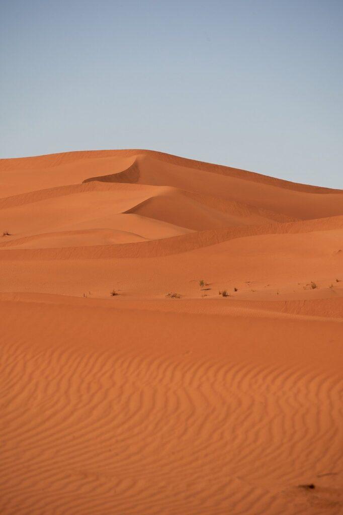 desert, sahara, sand